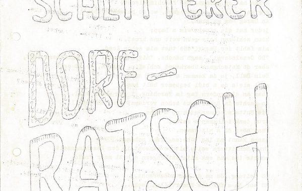 Dorfratsch 1974 Online