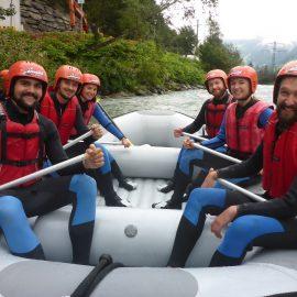 Zawos goes Rafting